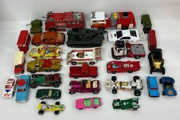 A selection of Diecast vehicles