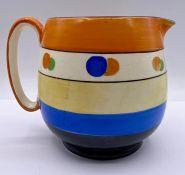 A Crown Devon china jug