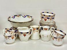 "A part tea service ""Garland"" bone china"