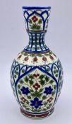 A small Hungarian vase, thought to be turn of the century 14 cm High