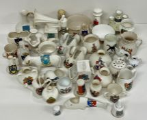 A Large volume of crested ware