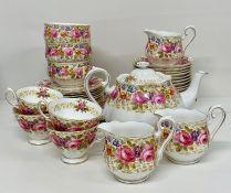 """A Royal Albert """"Serem"""" tea service"""