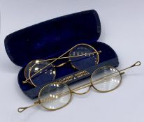 Two pairs of vintage reading glasses