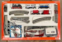A Primex Start Set boxed train set.