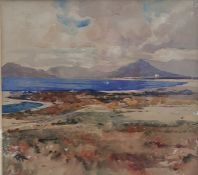 """Robert Gwelo Goodman (1871-1939) South African, """"Near the coast, Cape of Good Hope"""", signed with"""