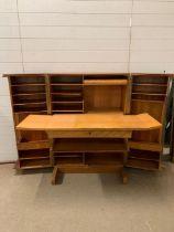 A metamorphic desk/cube (H116cm W84cm D54cm)