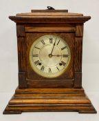 A mantel clock made is USA