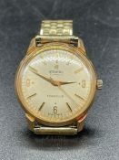An Atlantic 21 Jewels town club watch (antimagnetic)