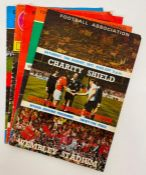 A Large selection of QPR Football programmes late 1960's and 1970's, along with some England