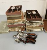 A selection of Denby cutlery