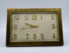 A L'Emeraude rectangualr trestle clock
