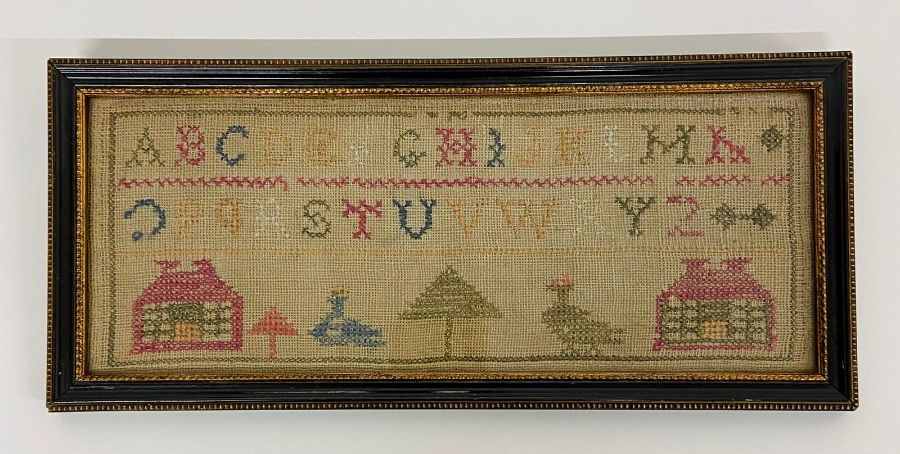 Two samplers, one Victorian and one dated 1931 - Image 2 of 5