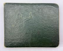 A Book of small verses, drawings, paintings from 1910 onwards.