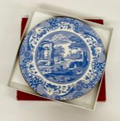 Two boxed blue Italian Spode place mats