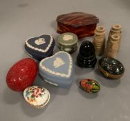 A selection of Jasperware and interesting miniature items