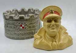 Two smoking advertisement collectables
