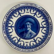 """Two boxed Wedgwood """"Her Majesty Queen Elizabeth"""" 2002 plates"""