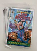 10 issues of the 12 Issue Marvel comic limited series 'The Saga of the Submariner' Issues 1 & 8