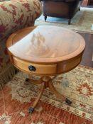 A drum table (50 cm diameter x 59 cm high)