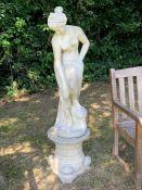 A Garden statue 150 cm high.