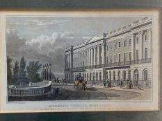 A pair of prints, ´Richmond Terrace´ and ´Somerset House´ (Frame size 28x24cm)