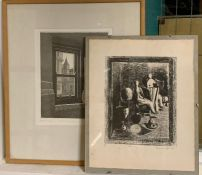 A pair of prints by Anabelle Grant and Martin Smitt, signed, titled and dated, framed and glazed.