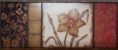 """""""Orchid Anthology"""" by 'Regina Andrew Design' (46.5x107 cm)."""