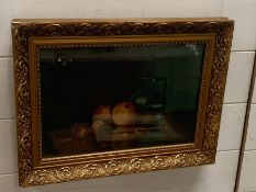 """A 20th century Continental school, 'Still life', signed with monogram """"A.R."""" and dated 1902,"""