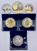 A Selection of Collectable Coins to include: D-Day, WWI Centenary Comm. Strike, King Henry VIII