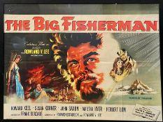 The Big Fisherman Movie Poster Howard Keel