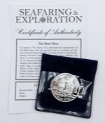 A Silver Five Pound coin 'The Mary Rose' by westminster mint (28.28g)