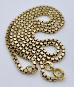 A 10 ct yellow gold necklace (6.9g)