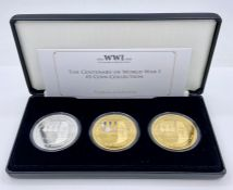 The Centenary of World War I £5 Coin Collection edition Limit 2018 boxed with certificate