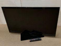 A Sony flat screen tv