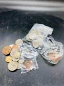 A quantity of Irish coins, Channel Islands, and Isle of Man, some Victorian