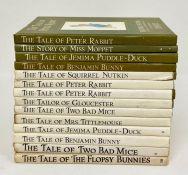 A selection of Vintage Beatrix Potter books