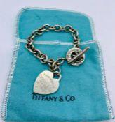 A Tiffany silver bracelet