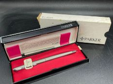A Parker 45 Flighter Pen