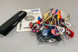 A small selection of darts