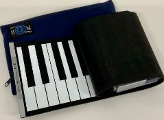 A hand roll piano