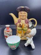 A Mixed ceramics lot