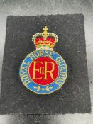 A Royal Horse Guards patch