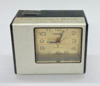 Space 1999 wrap party clock, inscribed from Barbara & Martin