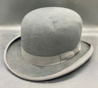 A Lincoln Bennett and Co black bowler hat