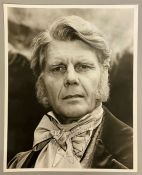 An autographed photo of Edward Fox from the estate of Keith Wilson Production Designer and Art