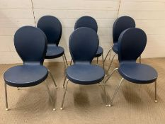 A set of six chairs by Ross Lovegrove