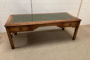 A library style coffee table (H74cm W48cm D37cm)