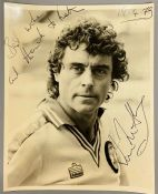 An autographed photo of Ian McShane from the estate of Keith Wilson Production Designer and Art