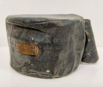 Wartime metal canteen and case