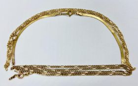 A Selection of 9ct gold, broken jewellery (Total Weight 8 g)